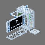 Pixilized Computer by brianofocap