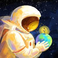 Spaceman by minayuyu