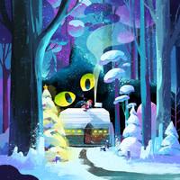 Christmas Eve by minayuyu