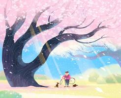 the warm spring by minayuyu