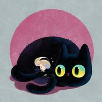fluffy tail by minayuyu