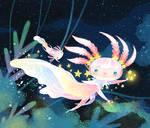 Axolotl adventure