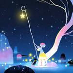 Hang stars at night
