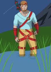 Fanart - Elidyr by ElidyrM by BattlePyramid