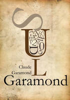 Garamond in a cup of coffe