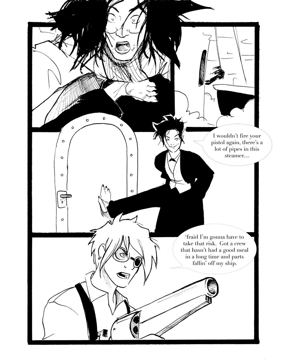 Rogue Skies: Round 1 -pg 10 by ZarathePirate