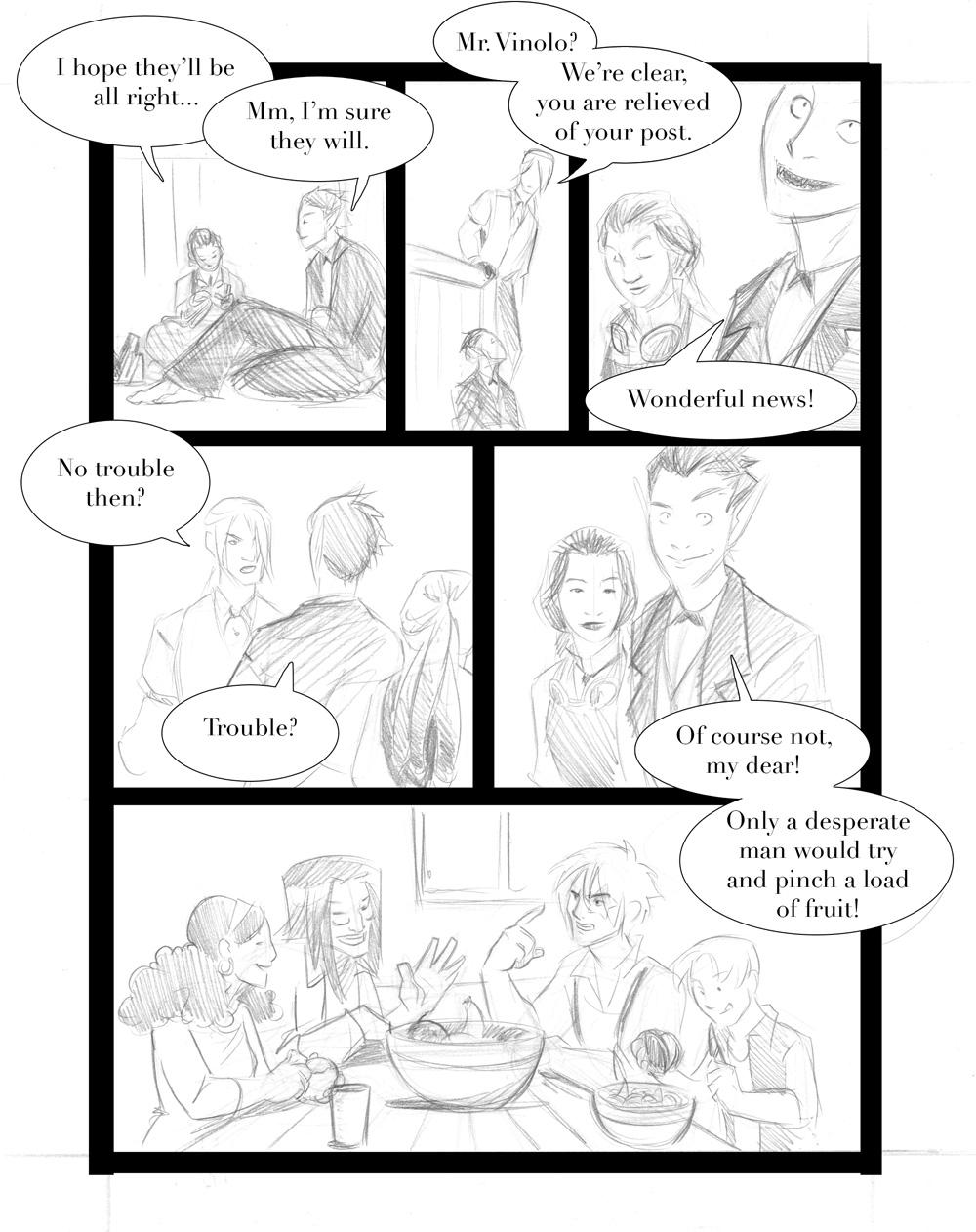 Rogue Skies: Round 1 -pg14 by ZarathePirate