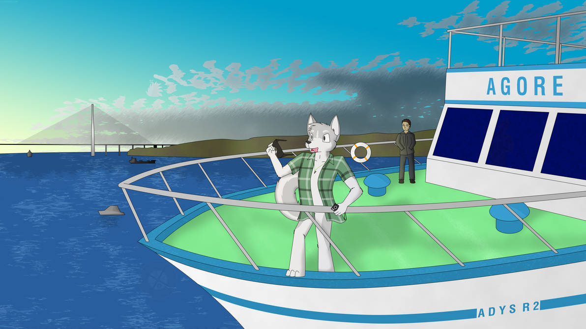 The Ferry Ride - A1 by GeckoZY