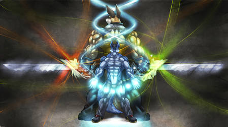 Epic Battle stance by Serisegala