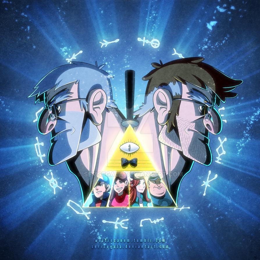 Gravity Falls Fan Poster by Serisegala