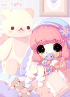 Teddy time by uniicake