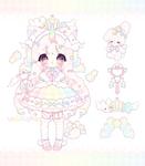 .:+ {CLOSED} rainbow princess adopt !! +:.