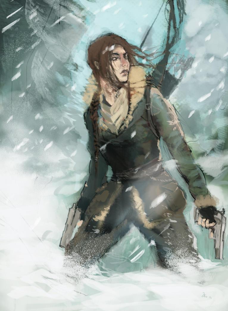 Rise of the Tomb Raider by adamlara