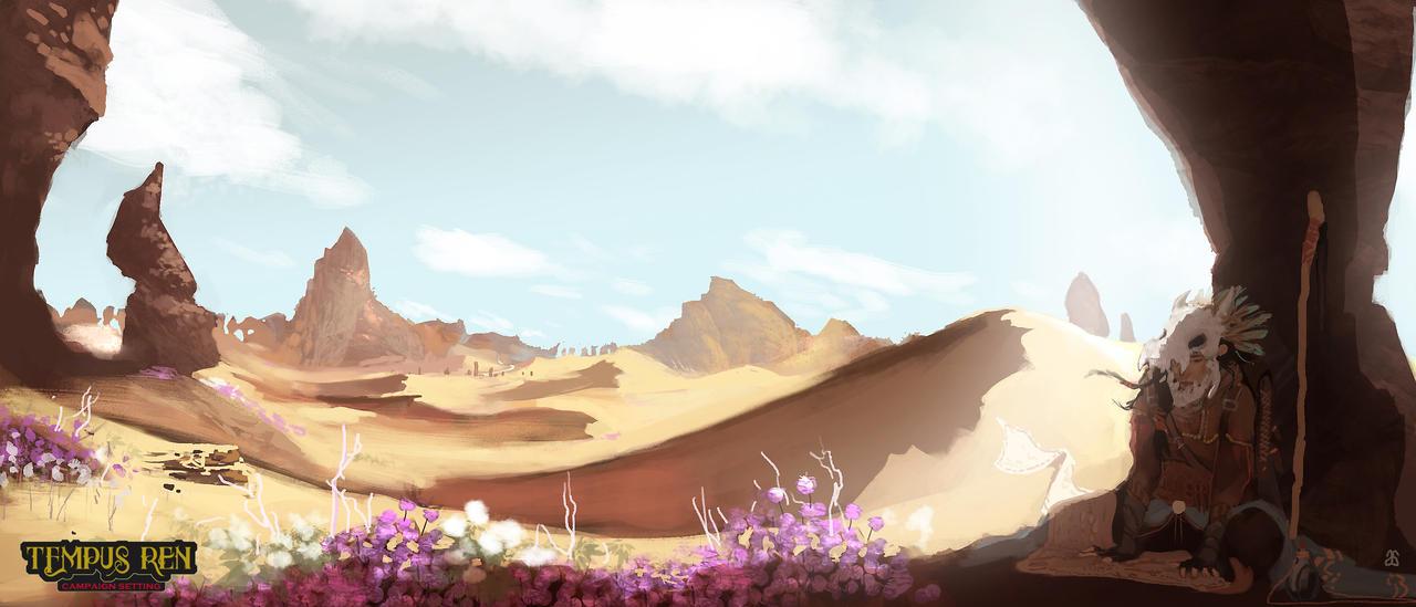 CM-Dry Desert by adamlara