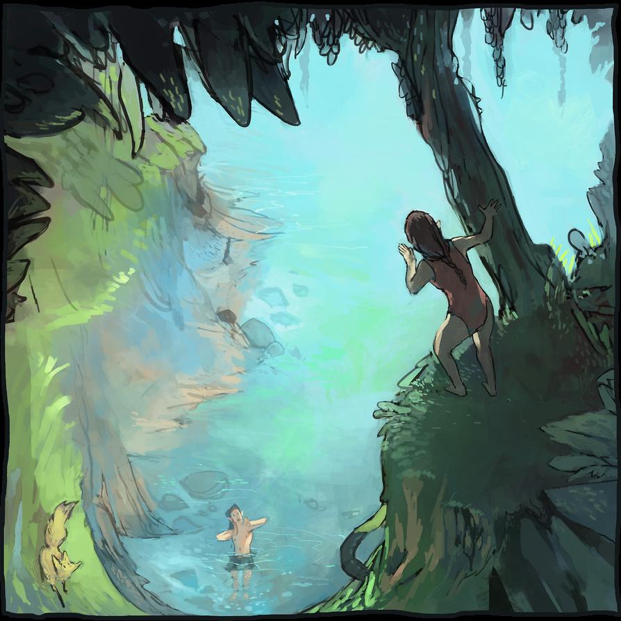 The Blue Lagoon by adamlara