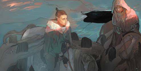 The dawn of ice by adamlara