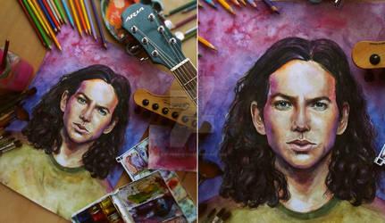 Eddie Vedder by DjevelenDod13