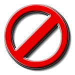 Not-Allowed Icon