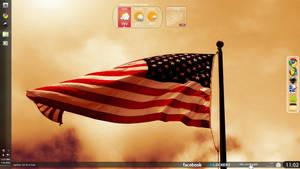 Flaming Silk Desktop