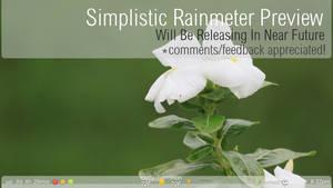 Simplistic Rainmeter Preview