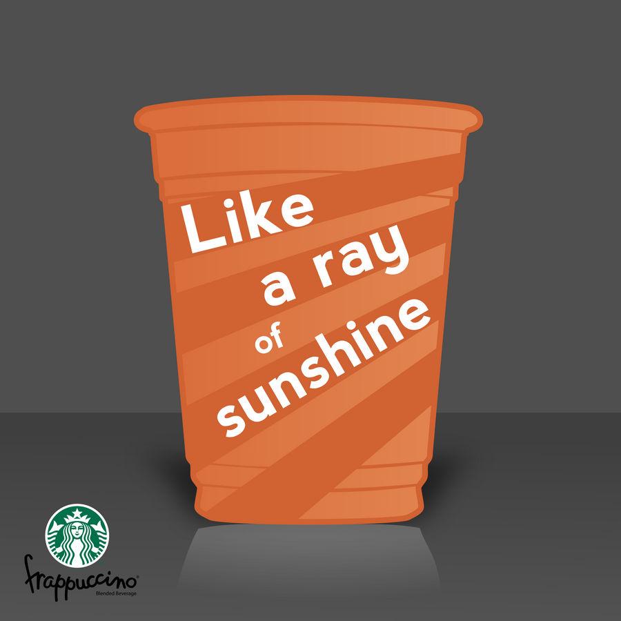 Ray of Sunshine for Starbucks