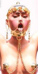 Slave Nina - Portrait by KinkyDept