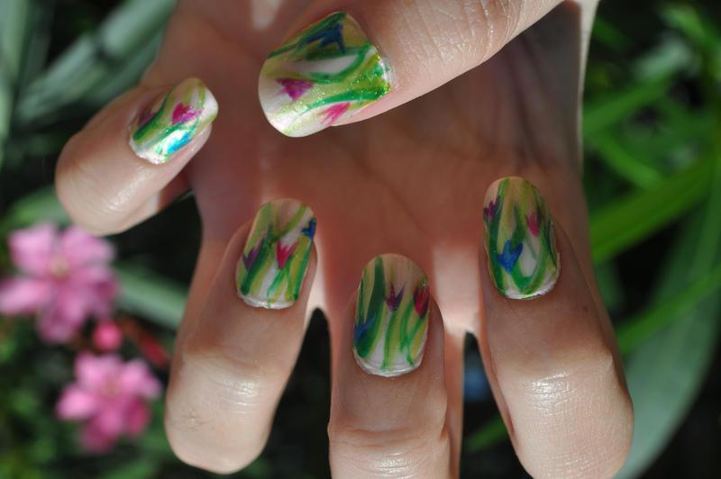 tulips nail art by lamaisol d4xdpj6