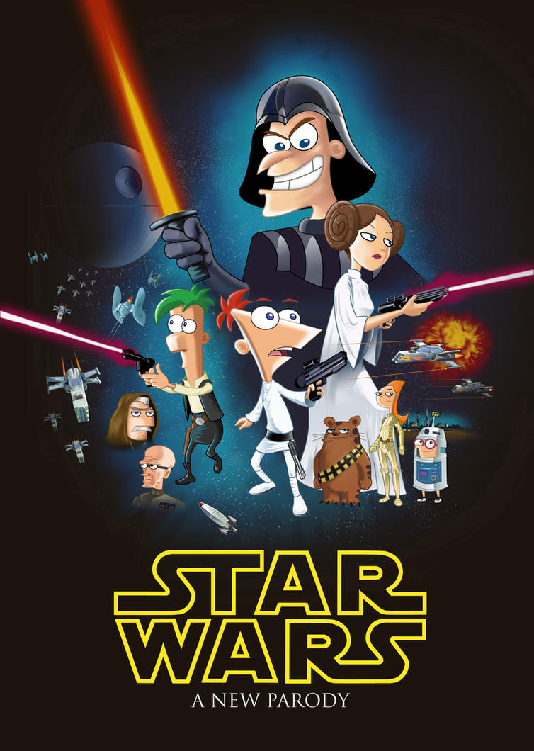 Pnf star wars a new parody by markmak