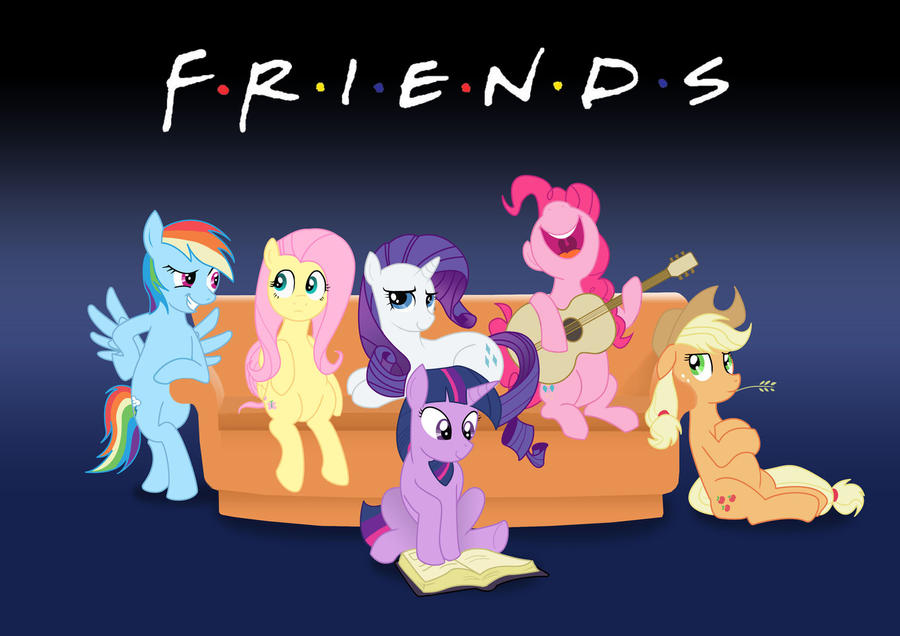 pony and friends
