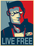 Motorcity - Live free Poster