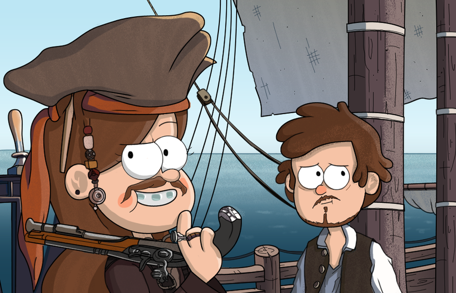 Pirates by markmak