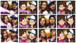 Dipper and Mabel IRL