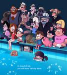 Gravity Falls The Deep End