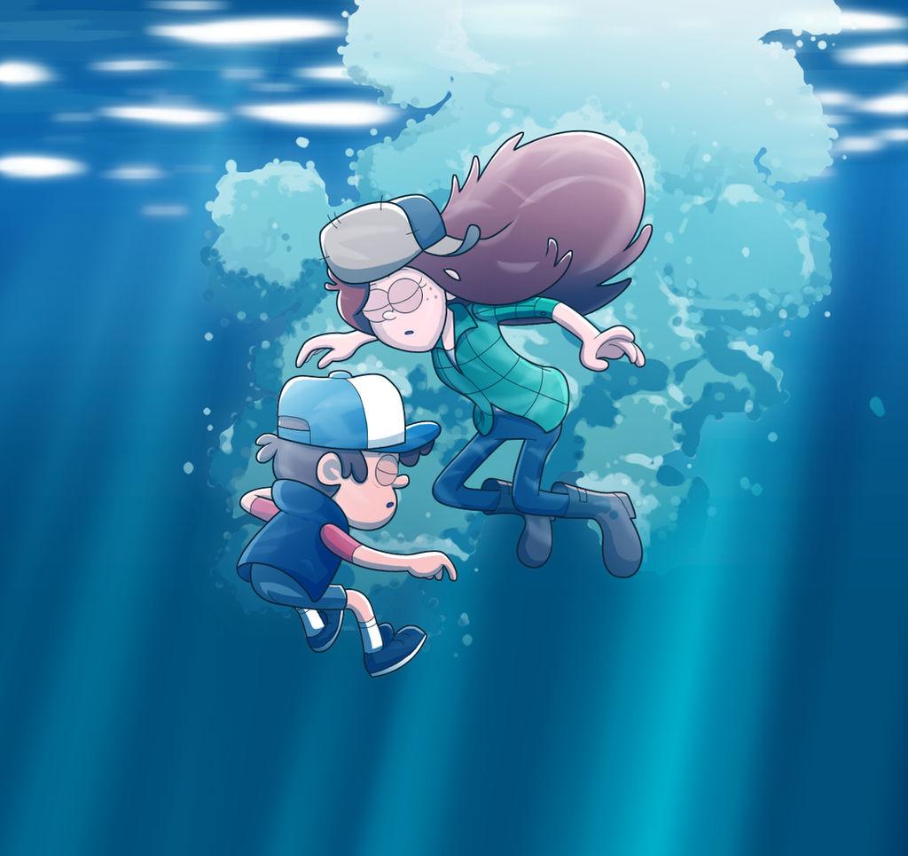 underwater breathhold by nitirin on DeviantArt