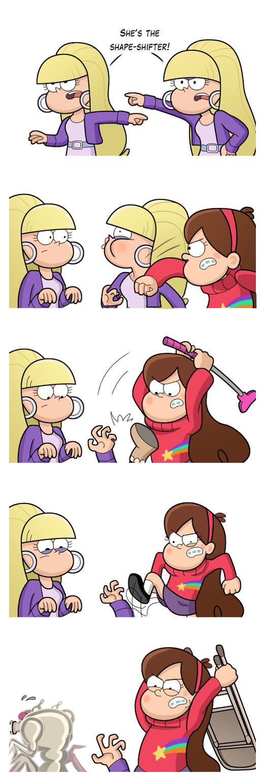 Um, Mabel? by markmak
