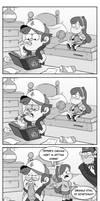 Dipper's chewing habit
