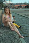 Posing Little Girl