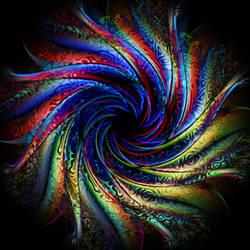 Patterned Spiral by nova-images