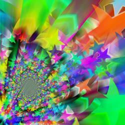 Starburst-fractal by nova-images