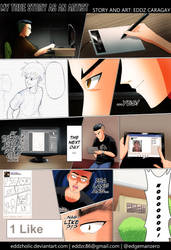MY TRUE STORY AS AN ARTIST by eddzholic