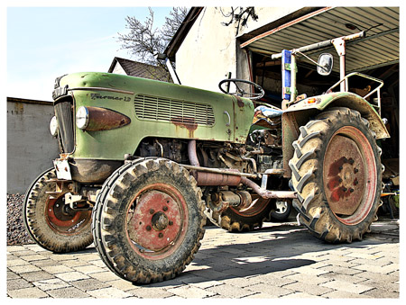 tractor by Bastiphoto