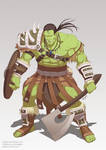 Commission : Orc warrior