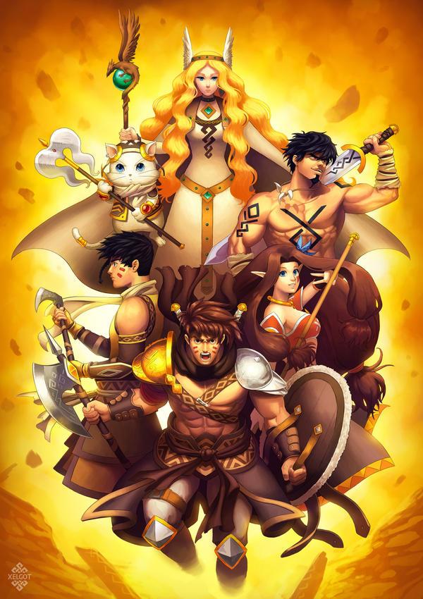 Heroes Unite by Xelgot