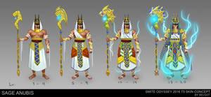 Sage Anubis -  T5 Skin concept