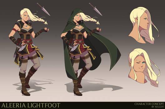 Commission: Aleeria Lightfoot