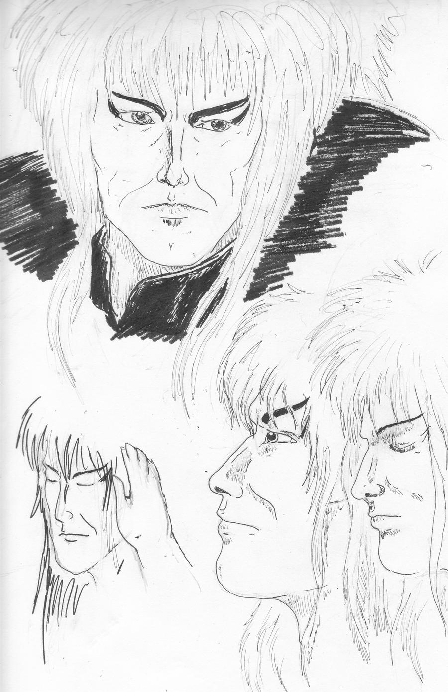 Jareth Practice by silvermoon822