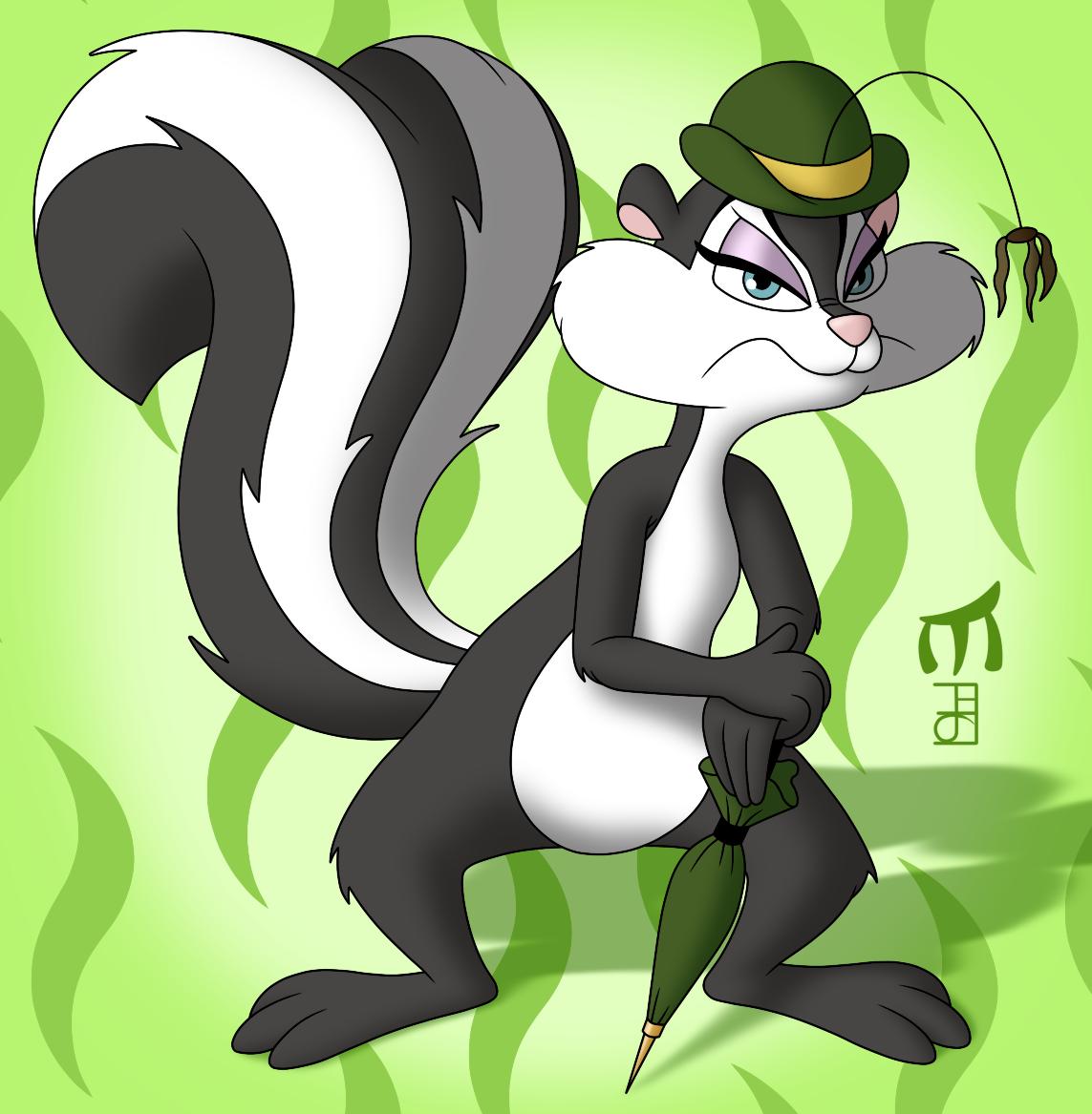 slappy skunk by amidnarasu on deviantart
