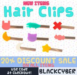 Cute Hair Clips for Sale!