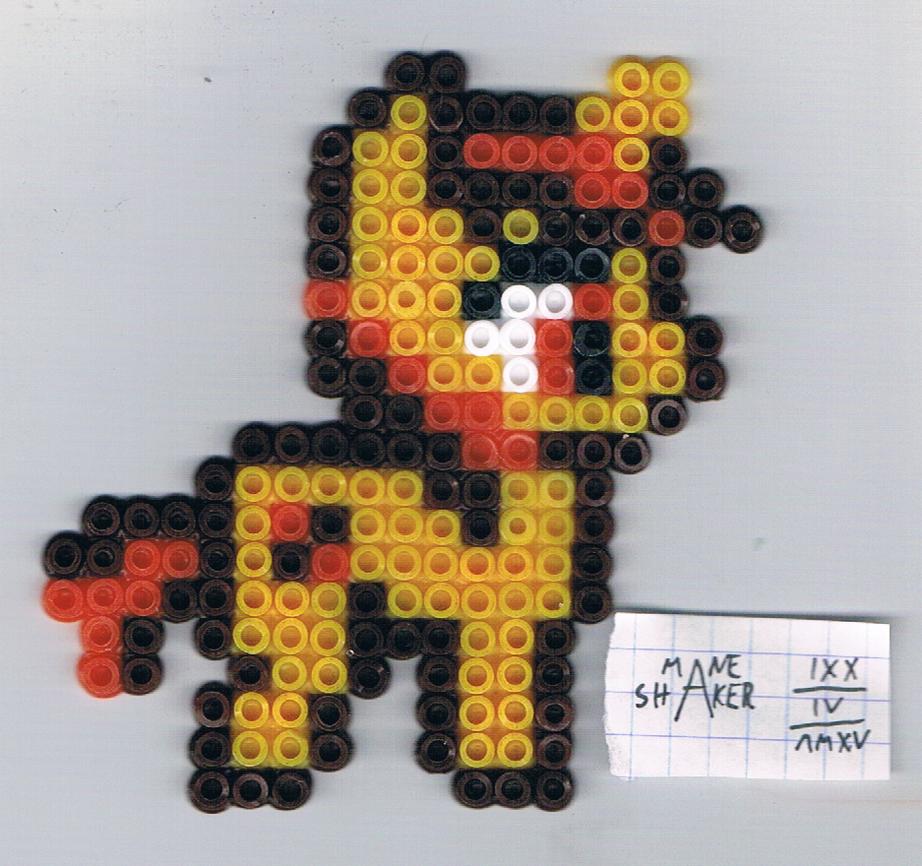 Pixel Sparkler by Mane-Shaker