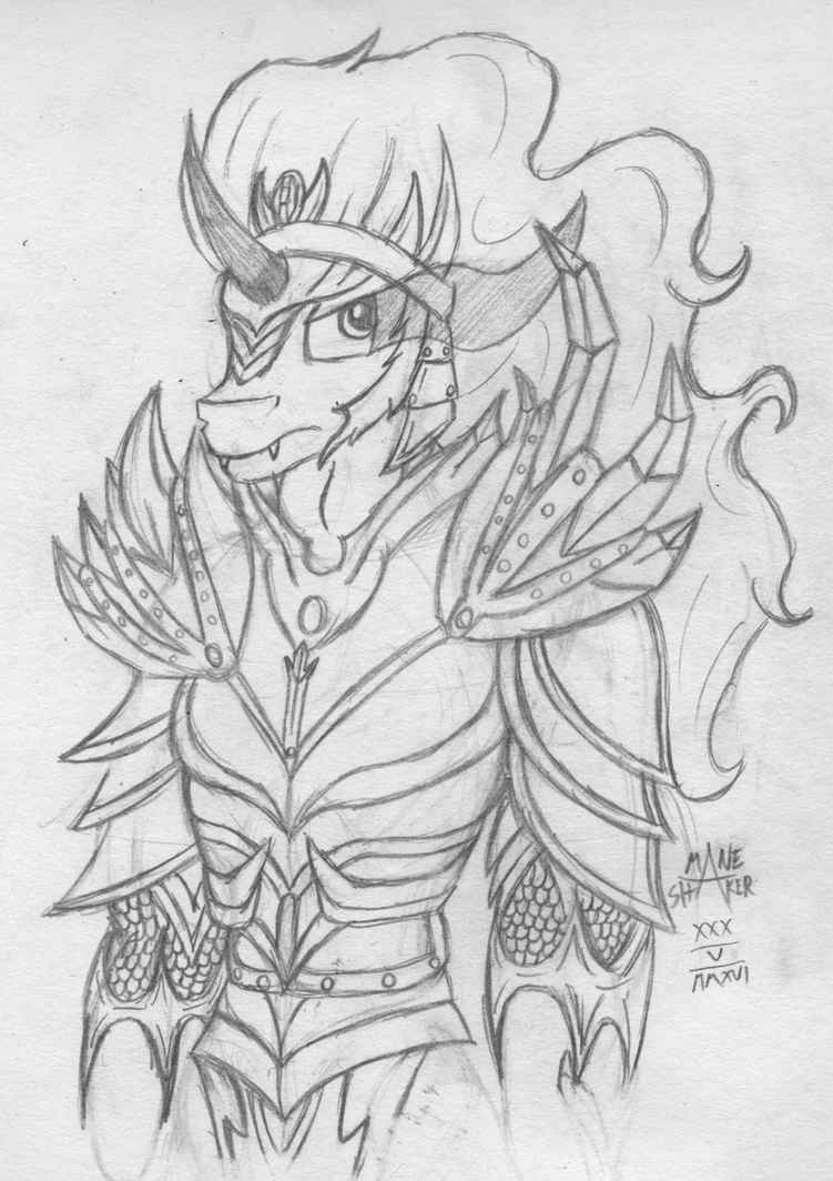 King Sombra by Mane-Shaker